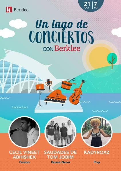 'Saudades De Tom Jobim' at Lago. A tribute to the music of Tob Jobim, Valencia