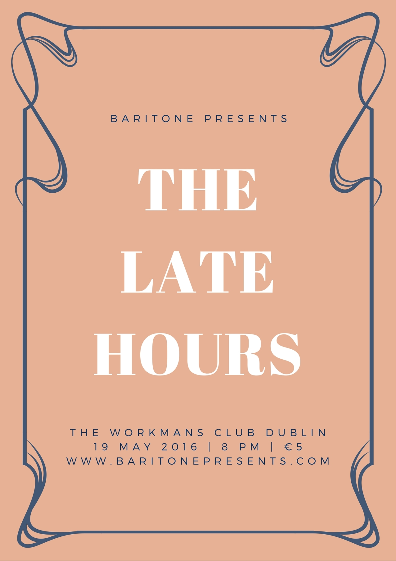 With 'The Late Hours', a duo project of guitar and vocals.