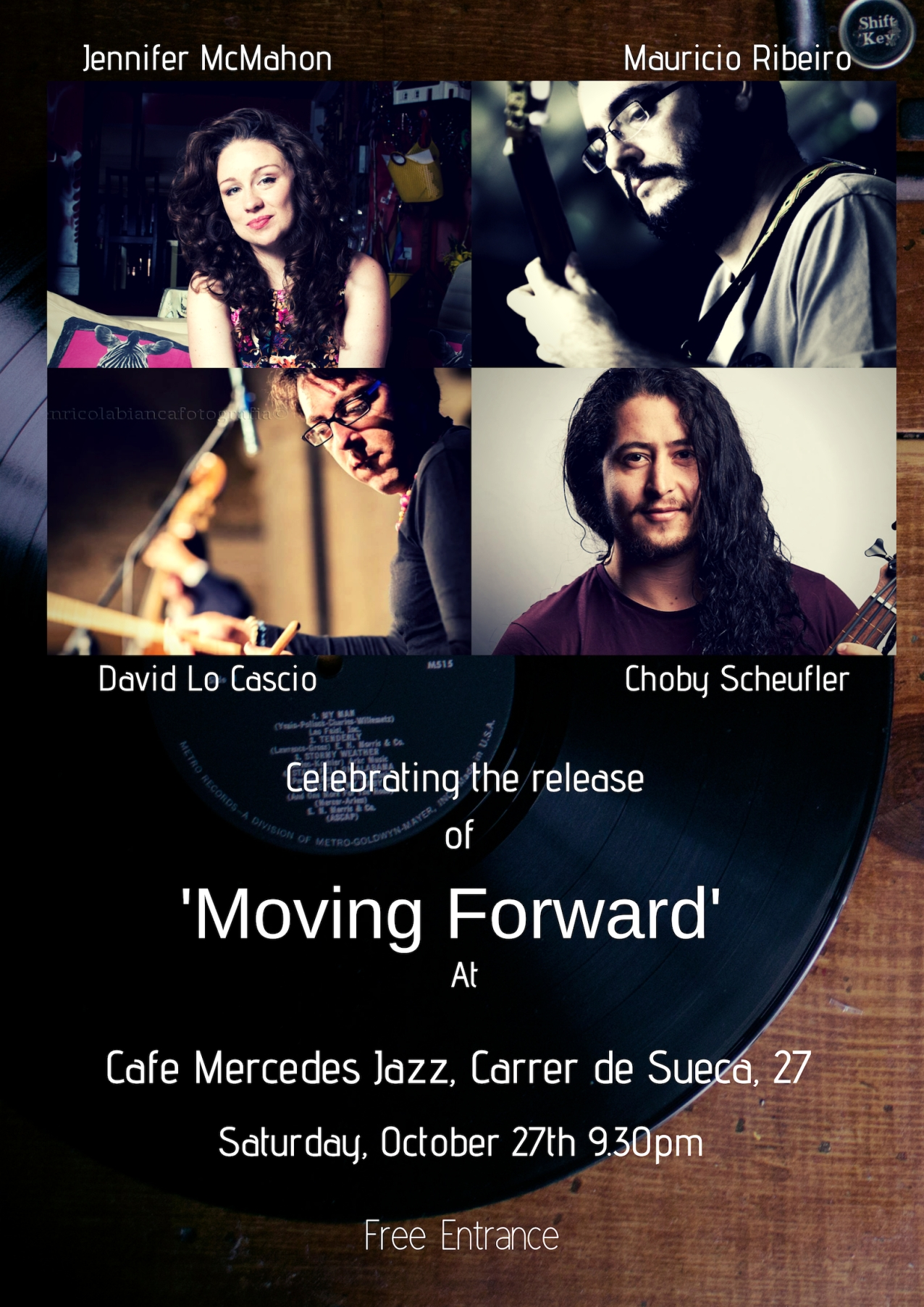 moving forwardlaunch party!